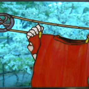 Tony Serviente, You're Getting Warmer: Stained Glass and Fusing
