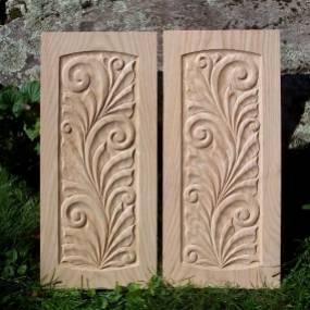 Valdemar Skov, Ornamental Woodcarving, woodworking