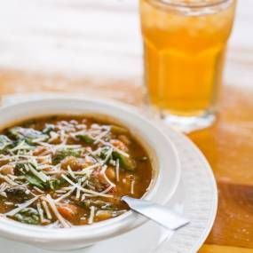 hot soup on cold days, craft school experience