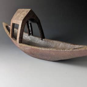 Sam Taylor, Sand-Slab & Coat Hanger, Ceramics