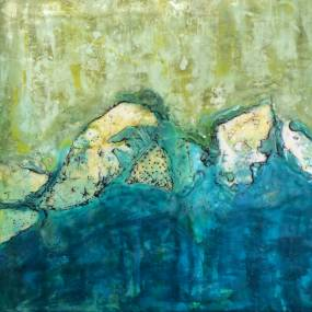2D & Mixed Media. Nancy Tobey. Mixed Media & Encaustic Painting
