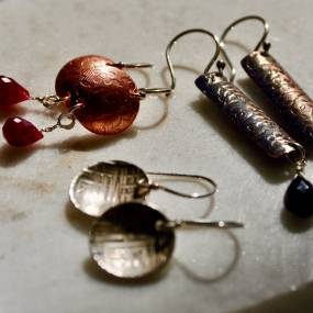Elizabeth Tokoly, Basic Bling, Metalsmithing, Jewelry