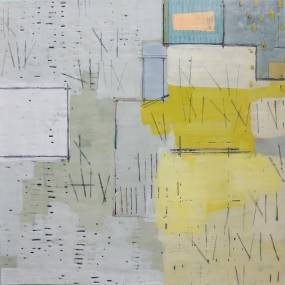 2D & Mixed Media. Dietlind Vander Schaaf. Encaustic Painting