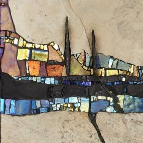 Casey Van Loon, Abstract Landscapes in Mosaics