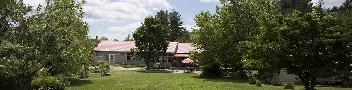 Snow Farm campus, scenic view, New England