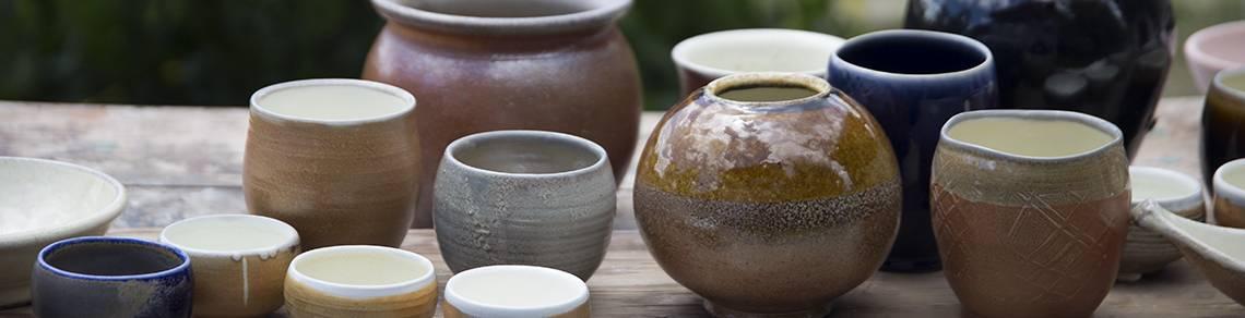 soda firing, handmade pottery