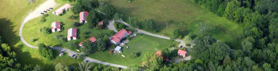 historic new england farms, williamsburg ma, drone photography